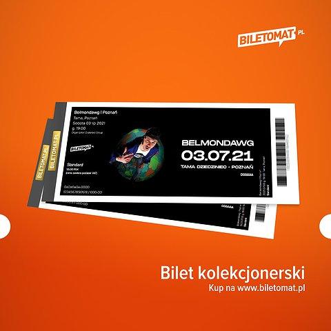 Polecamy bilet kolekcjonerski! Dostępny we Wrocławiu i Poznaniu!