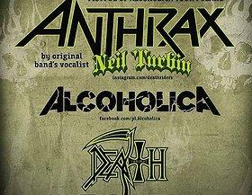 NEIL TURBIN (voc ANTHRAX), Alcoholica, Death Revival