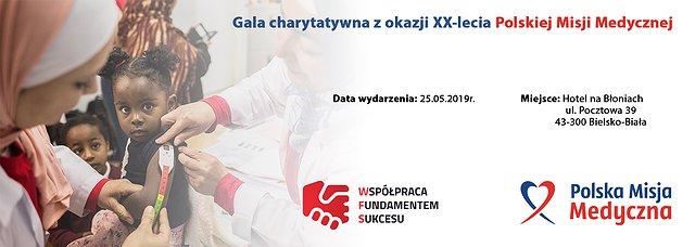 Gala charytatywna Polskiej Misji Medycznej