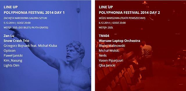 Polyphonia Festival