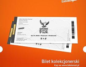 Polecamy bilet kolekcjonerski! Dostępne w obu miastach!