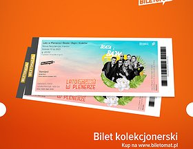 Polecamy bilet kolekcjonerski! Dostępne w każdym mieście!