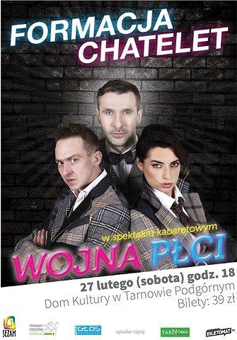Formacja Chatelet plakat