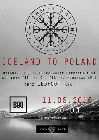 Iceland To Poland