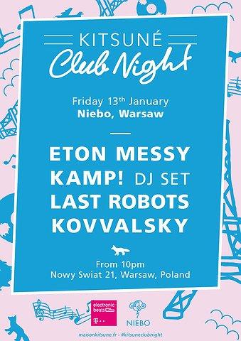 Kitsune Club Night - Eton Messy