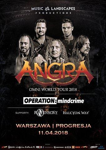 Angra Omni World Tour 2018