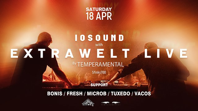 EXTRAWELT LIVE by Temperamental