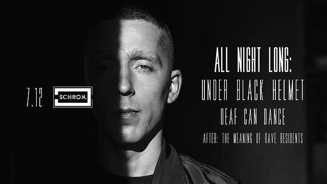 All night long: Under Black Helmet