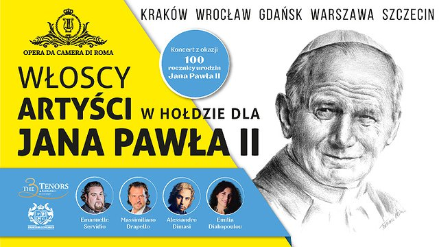 W Hołdzie dla Jana Pawła II