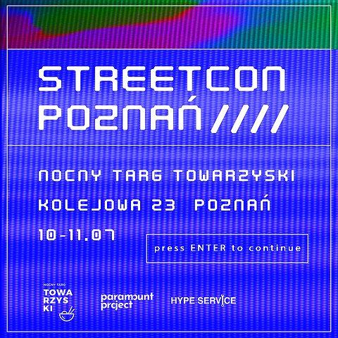 STREETCON POZNAŃ 2020