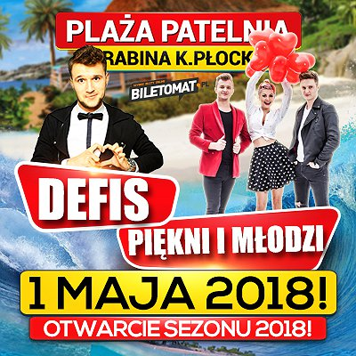 Majówka 2018 na Plaży Patelnia