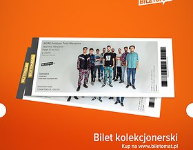 Polecamy bilet kolekcjonerski! Dostępne w Warszawie jak i w Katowicach!