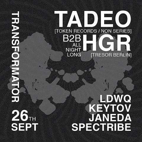 TADEO | b2b HGR | ALL NIGHT LONG!