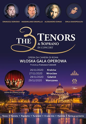 THE 3 TENORS & SOPRANO
