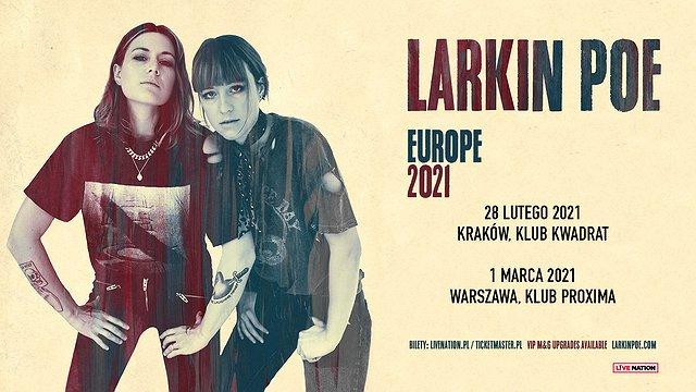 Larkin Poe w Polsce