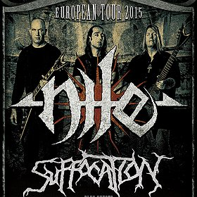 Koncerty: NILE + SUFFOCATION