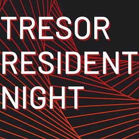 Muzyka klubowa: Tresor Resident Night 20/12/2019
