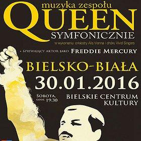 Koncerty: Queen Symfonicznie w Bielsku-Białej