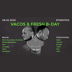 Muzyka klubowa: Vacos & Fresh B-Day / Deutschmann / Klein / DEAS / An On Bast