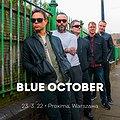 Pop / Rock: Blue October, Warszawa
