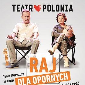 Theaters: Raj dla opornych - komedia Teatru Polonia w reż. Krystyny Jandy