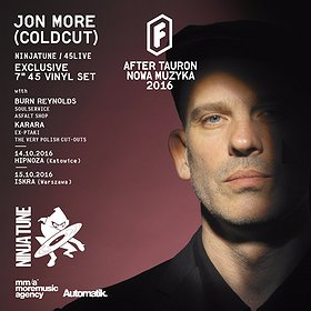 Events: After Tauron Nowa Muzyka 2016 - Jon More (COLDCUT) Ninja Tune