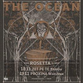 Koncerty: THE OCEAN + ROSETTA - Kraków