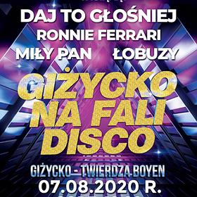 Disco: GIŻYCKO NA FALI DISCO 2020