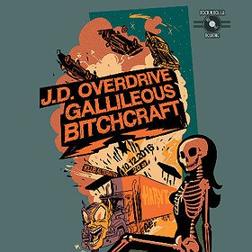 Koncerty: J.D. Overdrive, Gallileous, Bitchcraft