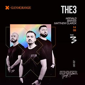 Muzyka klubowa: THE3 LIVE!
