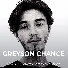 Pop / Rock: Greyson Chance