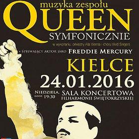 Koncerty: Queen Symfonicznie w Kielcach
