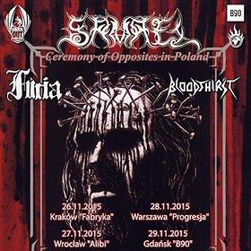Hard Rock / Metal: Samael + Furia, Bloodthirst