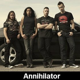 Koncerty: Annihilator
