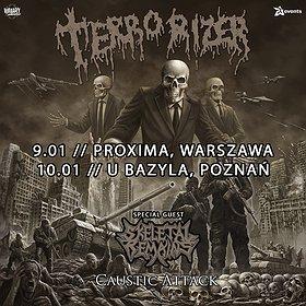 """Imprezy: TERRORIZER """"Caustic Attack European Tour"""" + Skeletal Remains - Warszawa"""