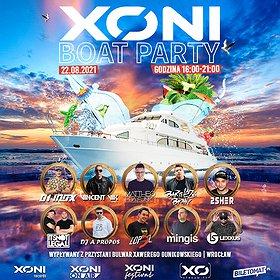 Muzyka klubowa: XONI BOAT PARTY
