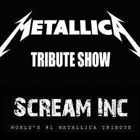 Koncerty: Tribute to Metallica show - Scream INC