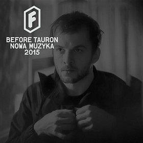 Koncerty: Nils Frahm - Before Festiwal Tauron Nowa Muzyka 2015