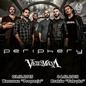 Koncerty: PERIPHERY + Veil Of Maya + Good Tiger