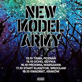 Koncerty: New Model Army - Warszawa