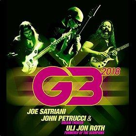 Koncerty: G3 2018 featuring - Joe Satriani, John Petrucci & Uli Jon Roth