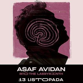 Koncerty: ASAF AVIDAN - INTO THE LABYRINTH