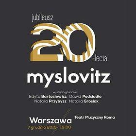 Koncerty: 20-lecie Zespołu Myslovitz