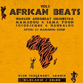 Koncerty: African Beats vol. 1 - Klub Parlament