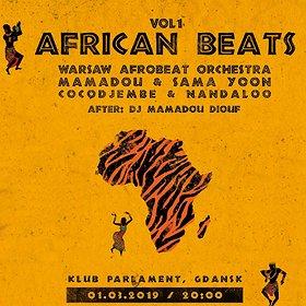 Concerts: African Beats vol. 1 - Klub Parlament