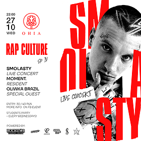 Hip Hop / Reggae : SMOLASTY & Oliwka Brazil | Poznań