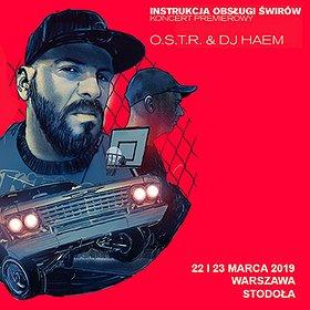 Hip Hop / Reggae: O.S.T.R. & DJ HAEM (22.03)