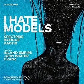 Muzyka klubowa: I Hate Models (ARTS / Fr) by Playground