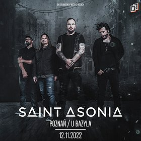 Pop / Rock: SAINT ASONIA / Poznań