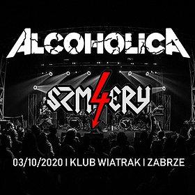 Hard Rock / Metal: ALCOHOLICA + 4 SZMERY